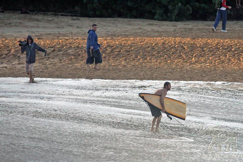 Broken Board in early morning