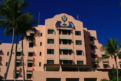 The Royal Hawaiian, Waikiki 2013