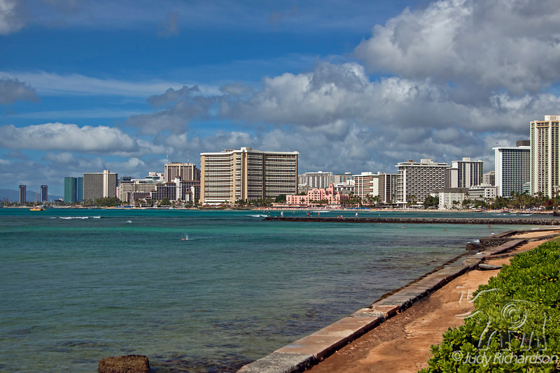 Waikiki View from Gold Coast