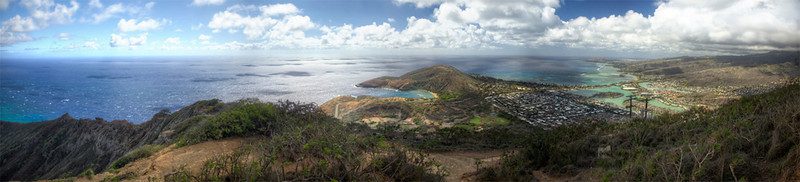 Top of KoKo Head, Oahu, Hawaii