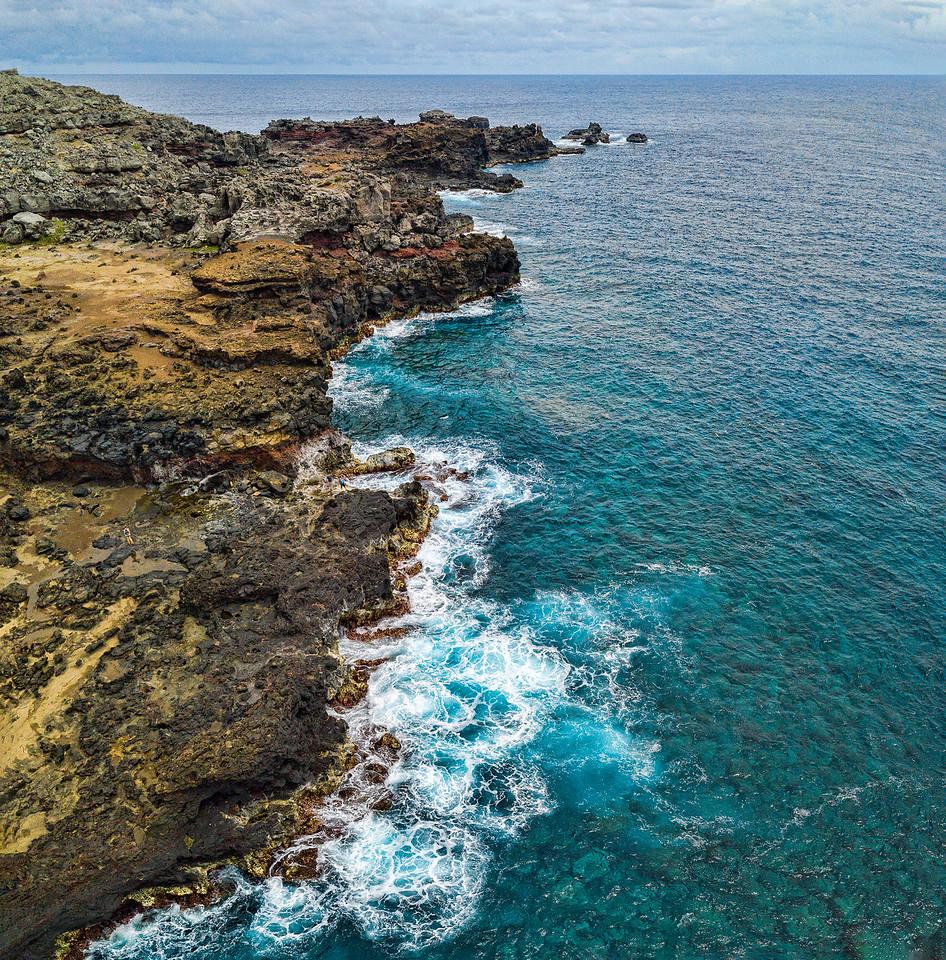 Near the blowhole, Maui, Hawaii