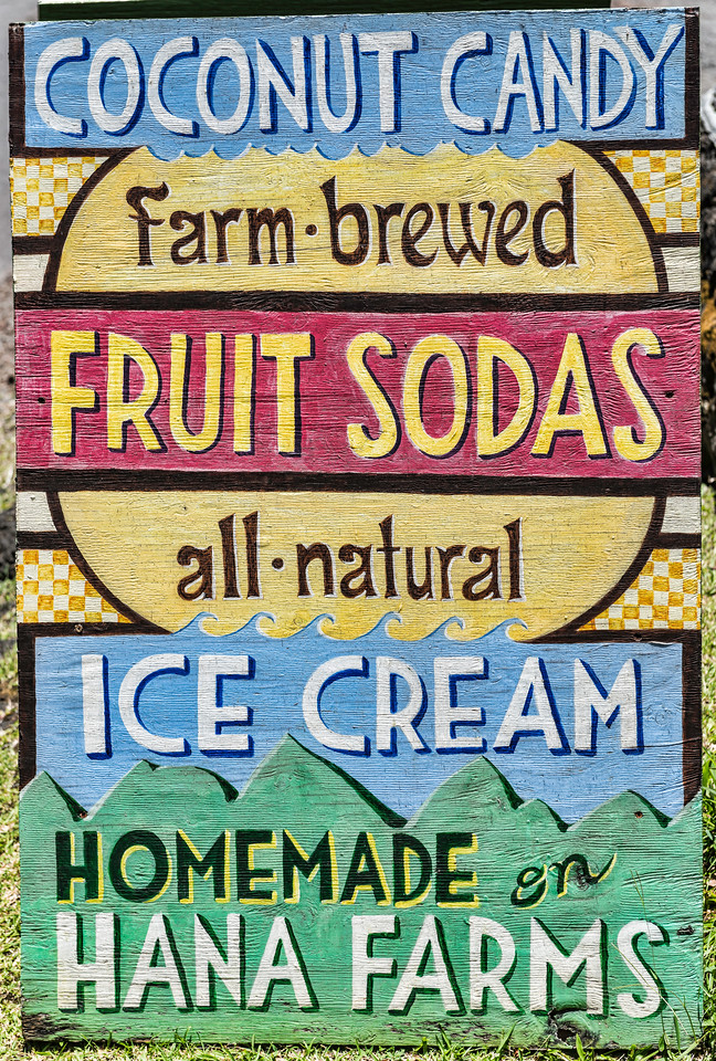 Hana Farms Sign