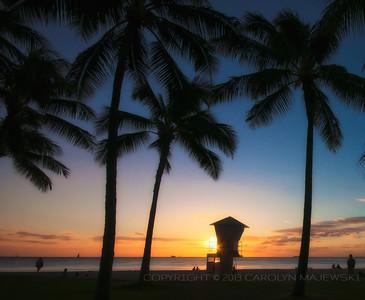 Sunset Waikiki