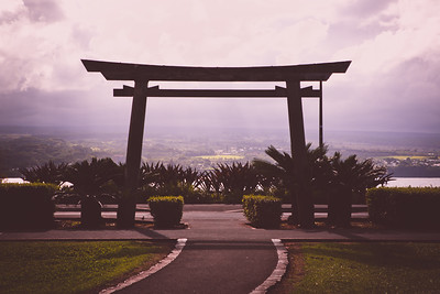 Japanese Style Arches in Hawaii