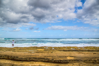 Puaena Point Beach Park, Haleiwa, Oahu, Hawaii, USA