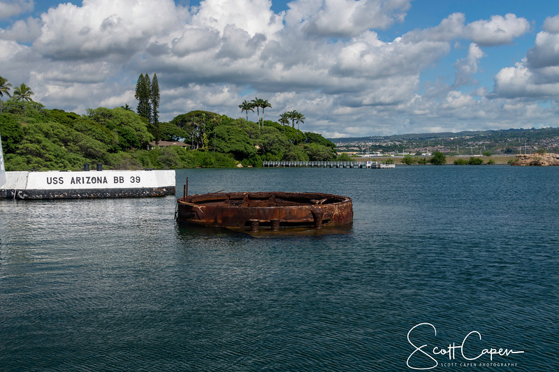 Gun Turret of the USS Arizona