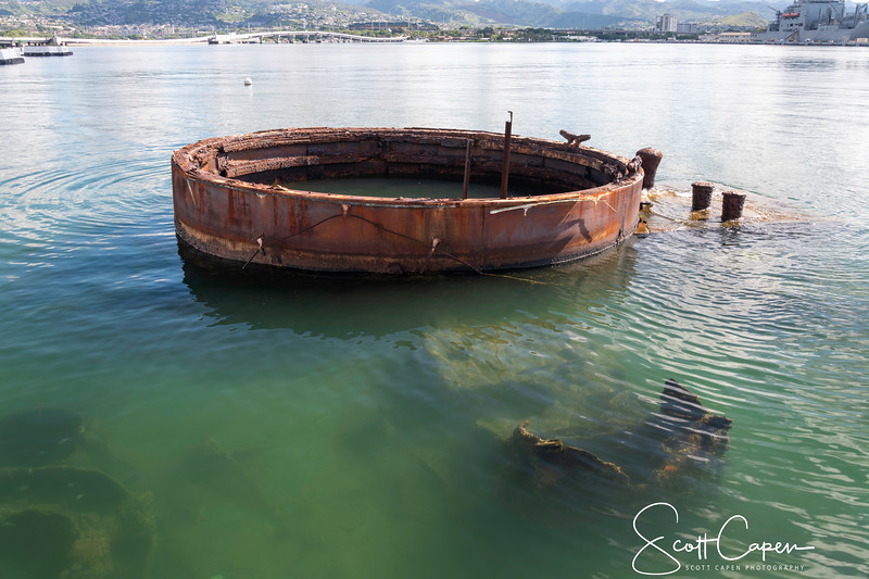 Gun Turret of USS Arizona
