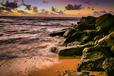 Sunrise on the beaches of Kauai.  Photo by Kyle Spradley | www.kspradleyphoto.com