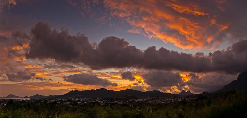 Sunrise over Kaneohe