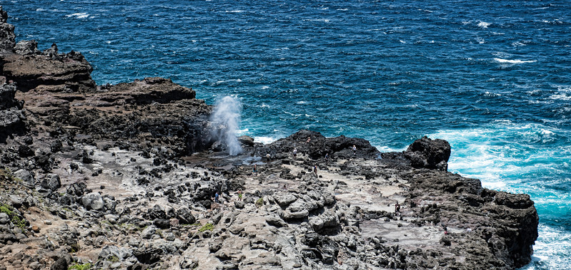 The Blowhole, Maui, Hawaii