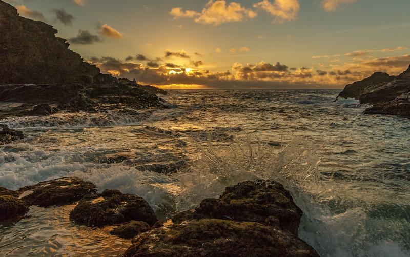 Sunrise, Halona Cove, Oahu