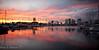 Sunset at Waikiki Harbor
