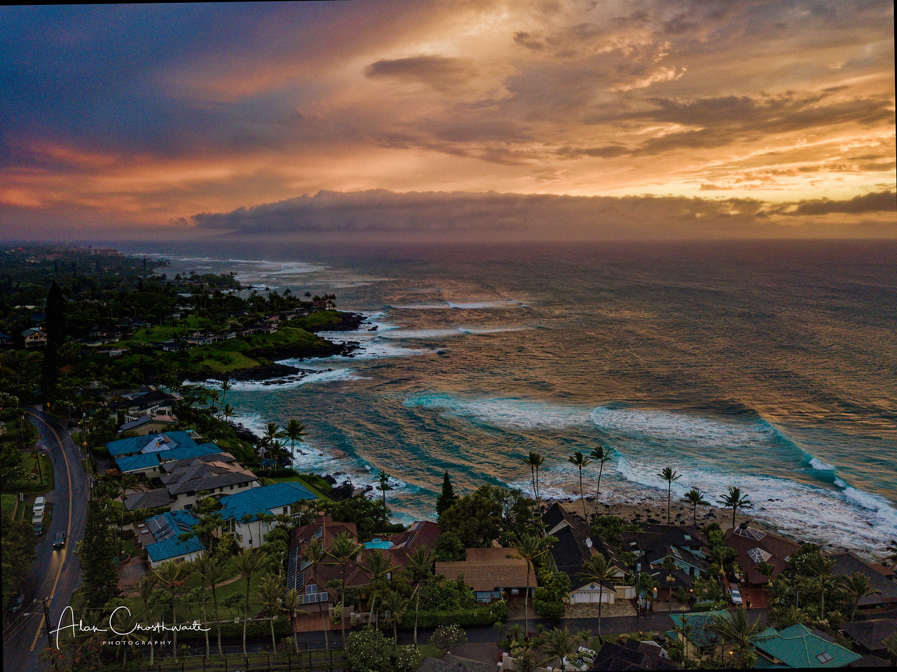 Weather onshore in Maui, Hawaii