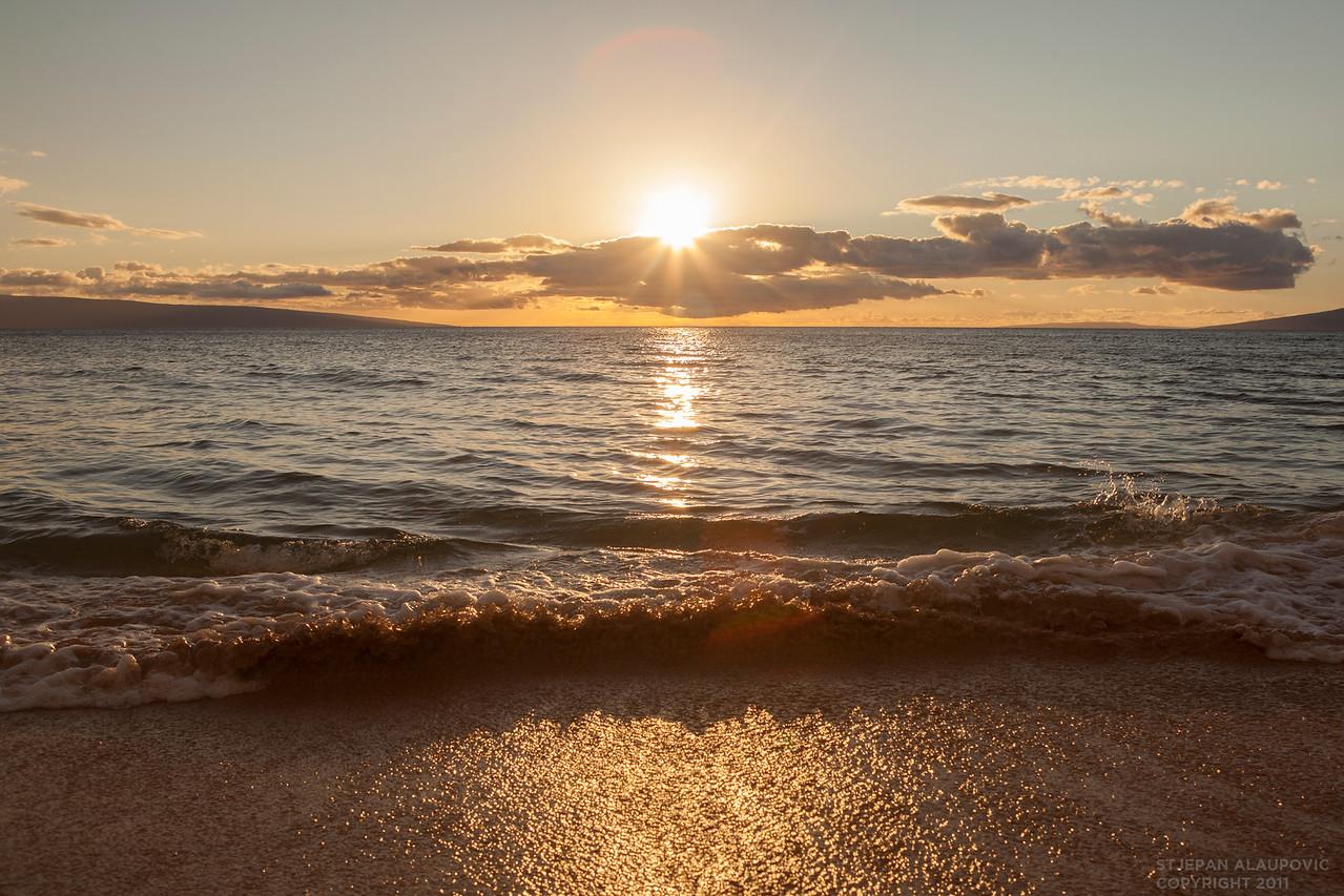 Ka'anapali Golden Sunset