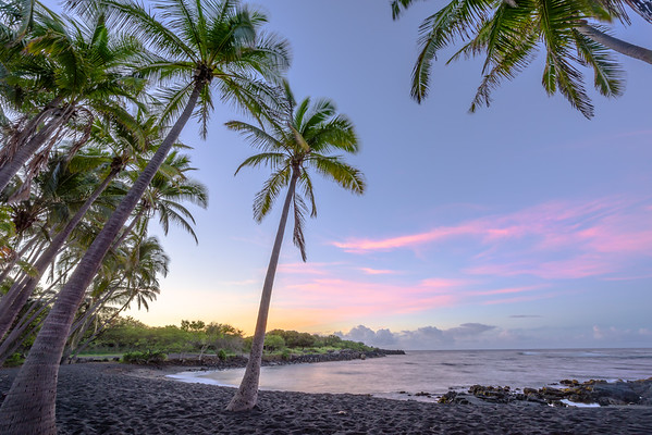 Black Sand Sunrise