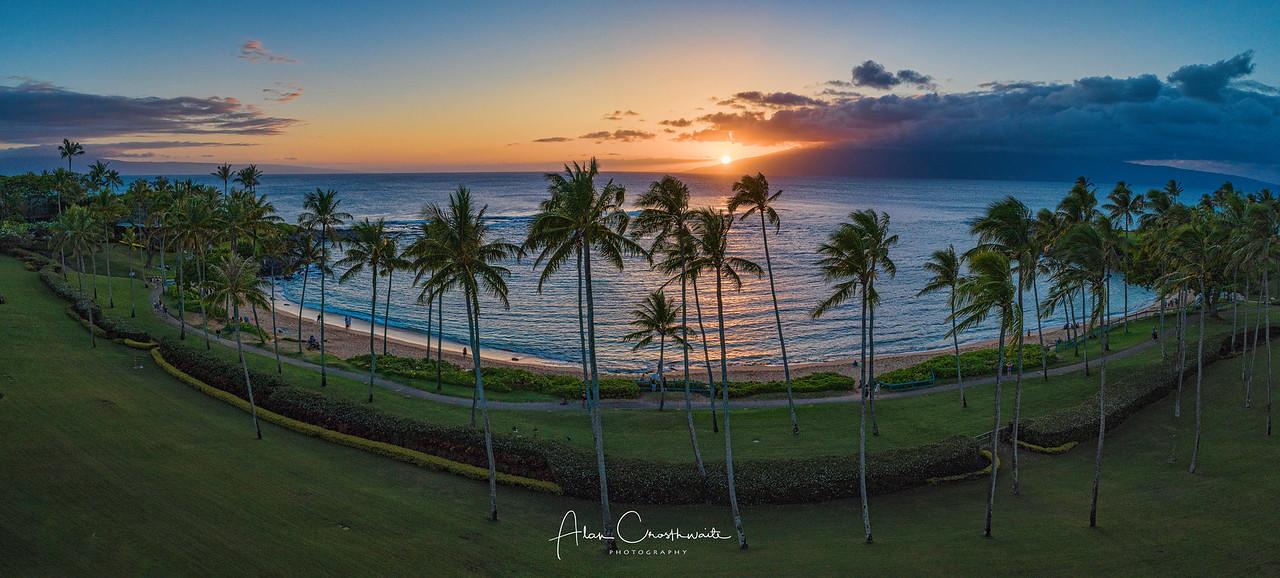 Kapalua Bay Panoramic, Maui, Hawaii