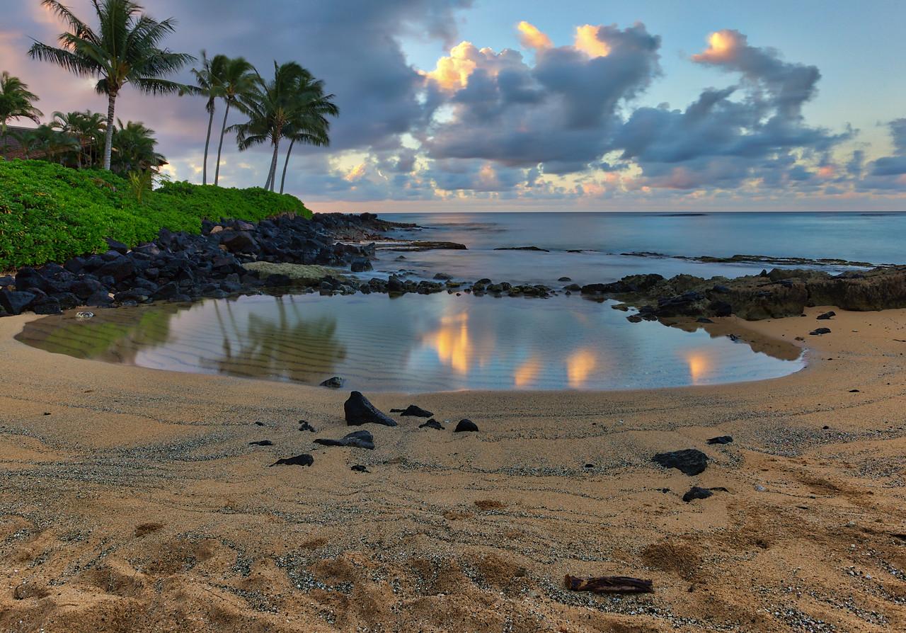 Keiki Beach Sunrise