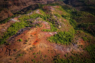 Scenes from above the Waimea Canyon on the northern end of the island of Kauai.  Photo by Kyle Spradley | www.kspradleyphoto.com