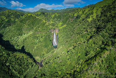 Manawaiopuna Falls - aka Jurassic Falls