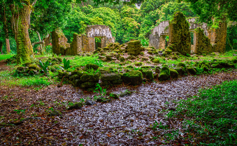 Ancient Hawaiian Ruins