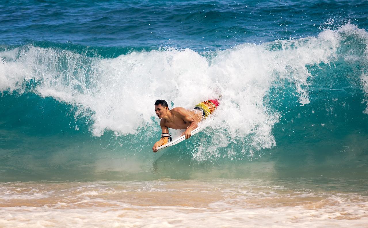 Boogie Boarding Hawaii 2