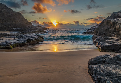 Halona Cove Sunrise