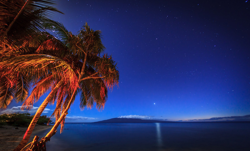 Late night on Maui
