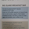 Such a huge ripoff. We are very glad with our Hotel Package that we got free breakfast.