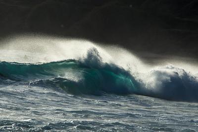 Sandy's Big Wave