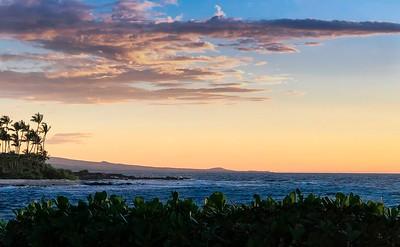 Sunset at Kailua-Kona, Hawaii
