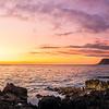 Nanakuli Beach Sunset Panorama 1