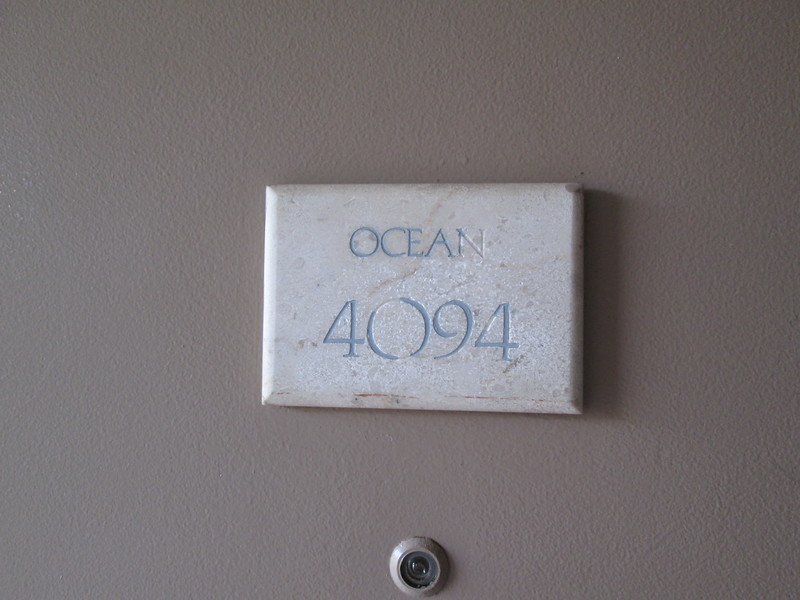 Our room in the Ocean Tower