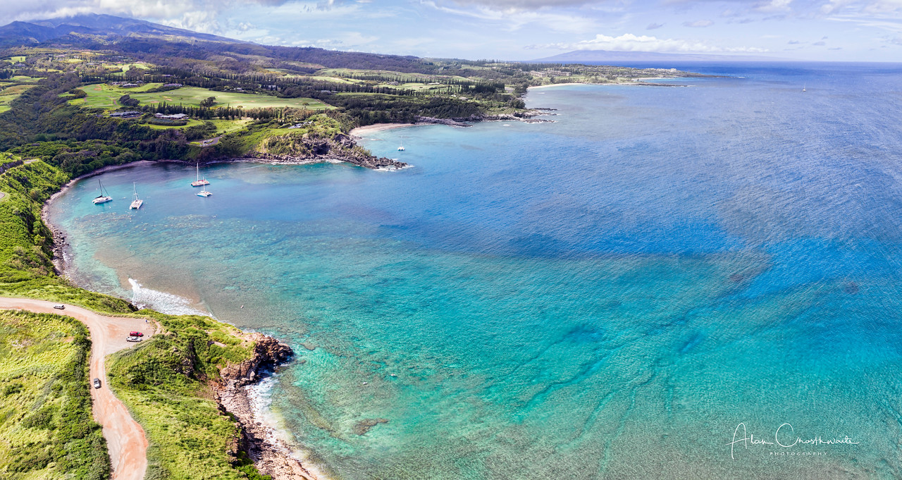 Honoloa Bay, Maui, Hawaii