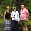 Beth, Janet and Bob at Lava Tree State Park
