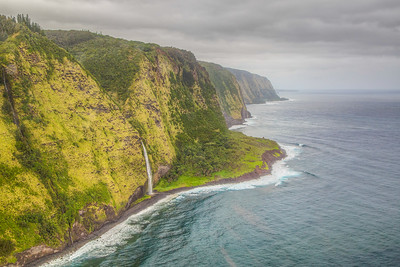 Shot from helicopter on Big Island of Hawaii
