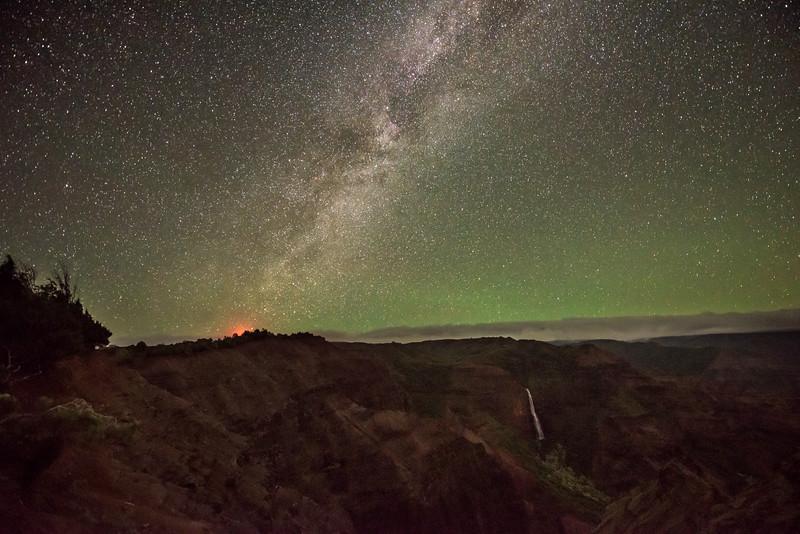 Waimea Canyon after Dark