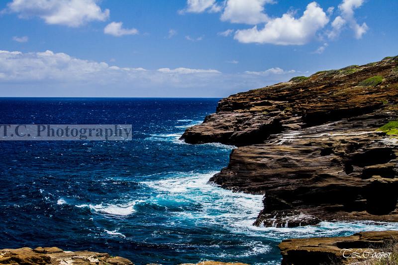 Rocky beaches of Hawaii