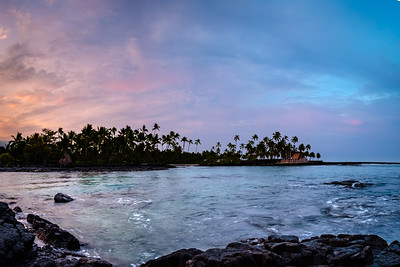 Sunrise Honaunau Bay