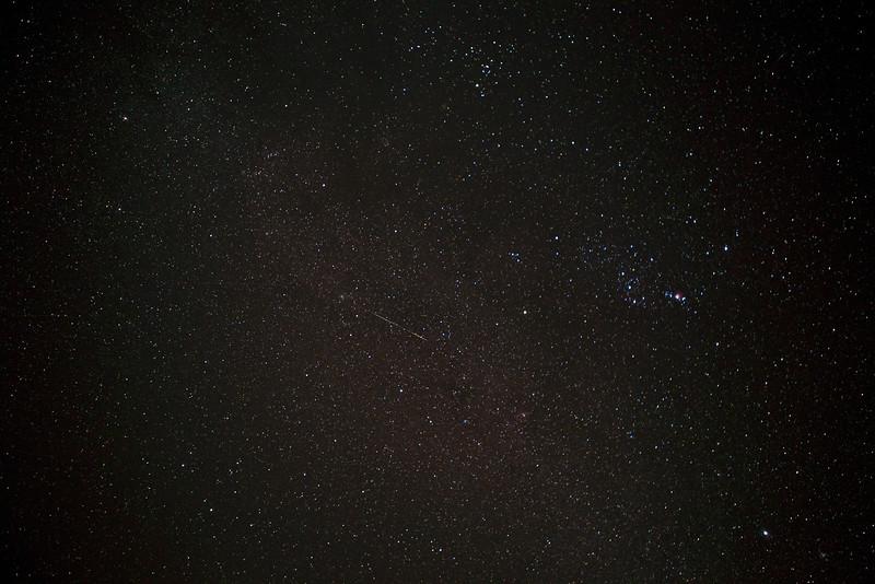 Hawaii, Shooting star, Milky Way, Stars, Haleakala, Maui