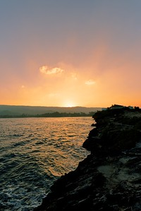 Laie Point Sunset, Oahu