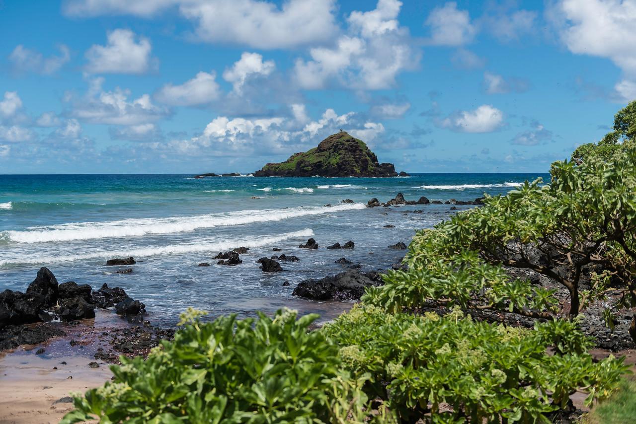 Hana bay, Maui, Hawaii.