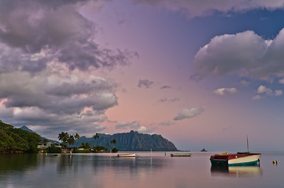 Kaneohe Bay morning, Oahu