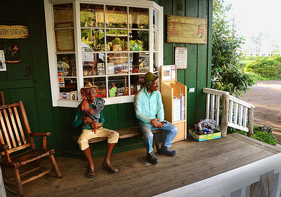 General store on the southern side of Maui