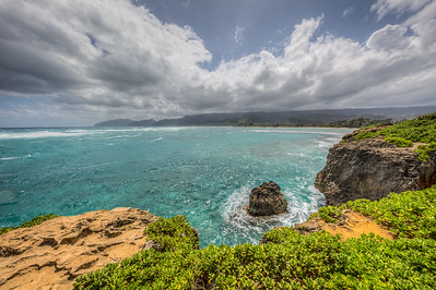 Laniloa Point Area of Oahu, Hawaii, USA