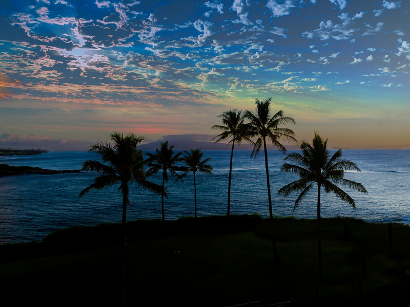 Sunset near Kapalua Bay