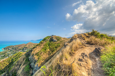 Shot from Lanikai Pillboxes Trail, Oahu