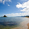 Chinaman's Hat and Beach