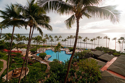View from our room in Maui