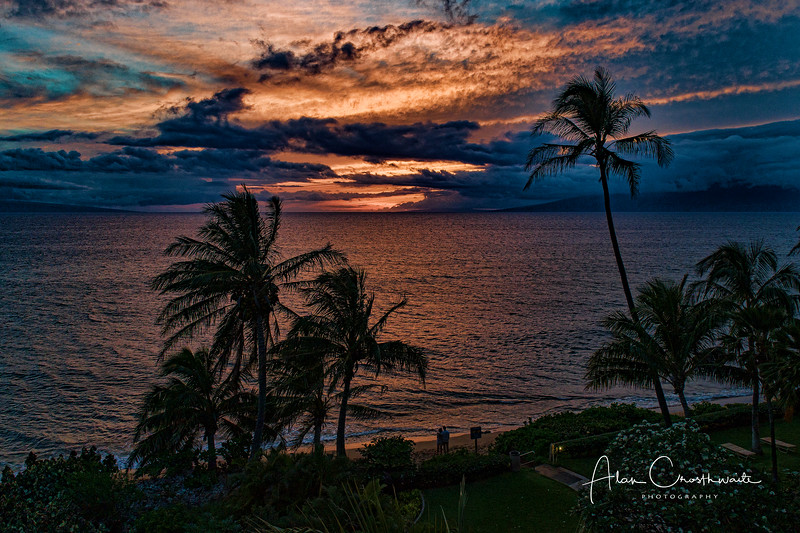 Kaanapali beach sunset