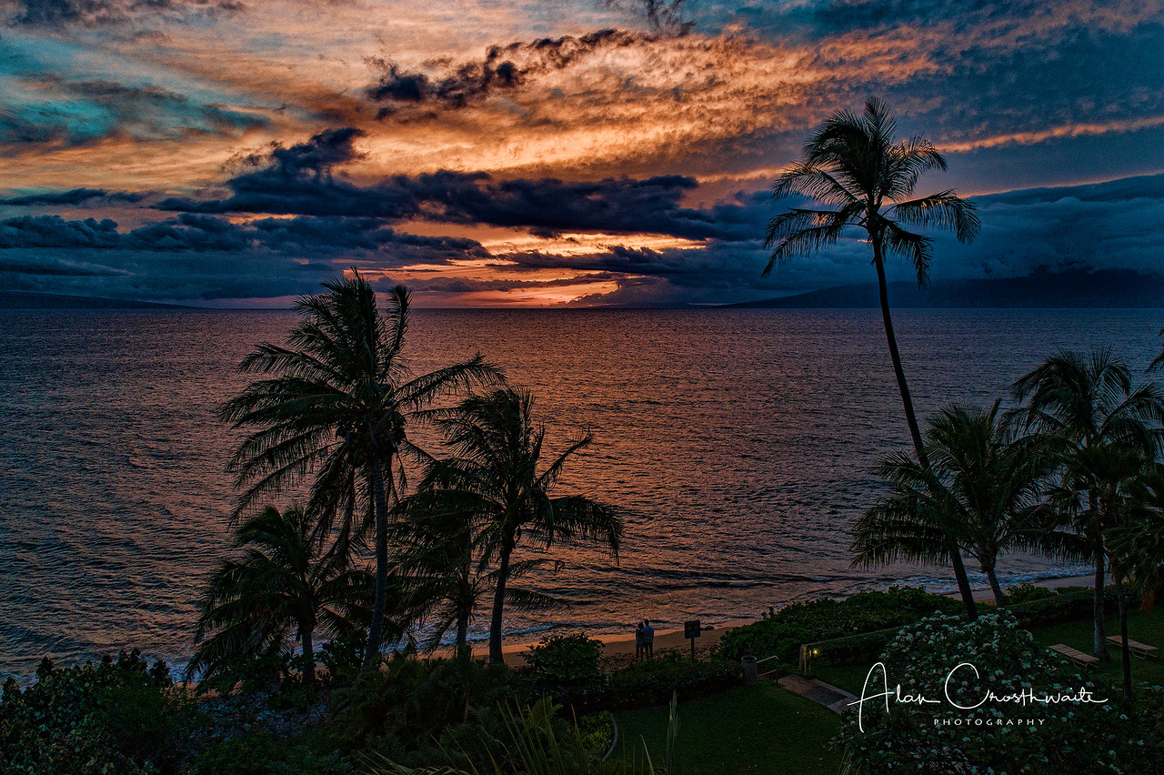 Kaanapali beach sunset